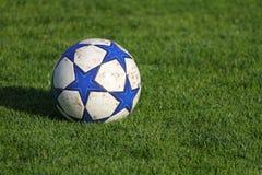 bakgrundsfotboll Arkivbild