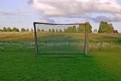 bakgrundsfotboll gates naturen Royaltyfri Foto