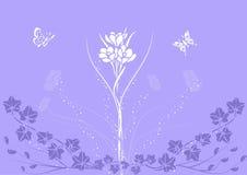 bakgrundsgarnering royaltyfri illustrationer
