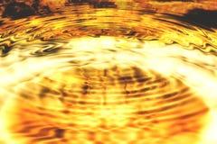 Bakgrundsglöd av Lava Arkivbilder