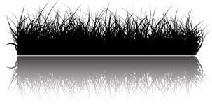 bakgrundsgräsvektor royaltyfri illustrationer