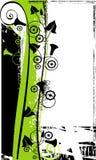 bakgrundsgrönsak Vektor Illustrationer