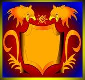 bakgrundsgriffon Royaltyfria Bilder