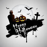 bakgrundsgrunge halloween Royaltyfri Foto