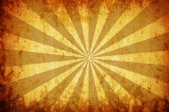 bakgrundsgrunge rays suntappningyellow royaltyfri illustrationer