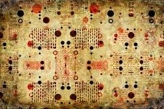 bakgrundsgrunge texturerade Arkivbild