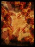 bakgrundsgrungehjärta Royaltyfria Bilder