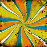 bakgrundsgrungetwirl Stock Illustrationer