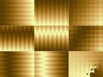 bakgrundsguld Royaltyfria Bilder