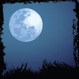 bakgrundshalloween natt Arkivfoto