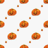 bakgrundshalloween pumpor royaltyfri illustrationer