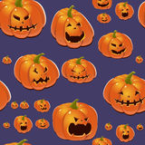 bakgrundshalloween pumpor vektor illustrationer