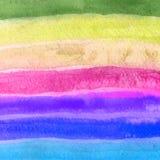 bakgrundshand - gjord målad självvattenfärg abstrakt teckning unik bakgrundsdesign Royaltyfri Fotografi