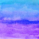bakgrundshand - gjord målad självvattenfärg abstrakt teckning unik bakgrundsdesign Royaltyfri Foto