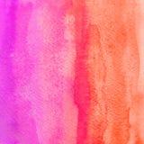 bakgrundshand - gjord målad självvattenfärg abstrakt teckning unik bakgrundsdesign Arkivbild