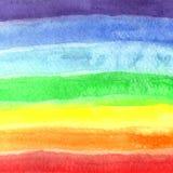 bakgrundshand - gjord målad självvattenfärg abstrakt teckning unik bakgrundsdesign Arkivfoto