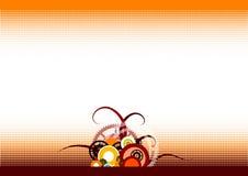 bakgrundshjul Arkivbild
