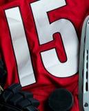 bakgrundshockeyis Fotografering för Bildbyråer