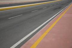 bakgrundshuvudvägväg Arkivbilder