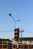 bakgrundsillustrationen isolerade ljus white för trafikvariantsvektor Royaltyfria Bilder