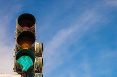bakgrundsillustrationen isolerade ljus white för trafikvariantsvektor Arkivbild