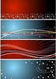 bakgrundsjul vektor illustrationer