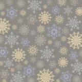 bakgrundsjulen isolerade vita snowflakes arkivbilder