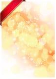 bakgrundsjulillustration Royaltyfria Bilder