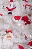 bakgrundsjultree Royaltyfri Fotografi