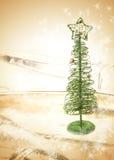 bakgrundsjultree Royaltyfria Foton