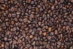 bakgrundskaffekorn Royaltyfria Bilder