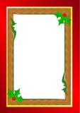 bakgrundskanten boxes vita guld- isolerade band för julgåvan vektor illustrationer