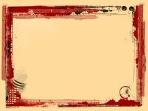 bakgrundskantgrunge Fotografering för Bildbyråer