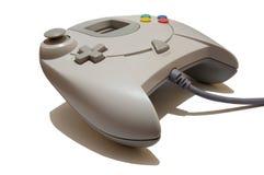 bakgrundskontrollanten isolerade videogamewhite Royaltyfri Fotografi