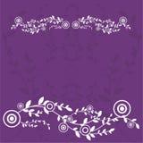bakgrundskortdesignen blommar hälsningar Royaltyfria Foton