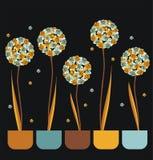 bakgrundskortet blommar rengöringsduk för tappning för hälsningssidamall universal Royaltyfria Foton