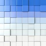 bakgrundskub för abstraktion 3d Arkivfoto