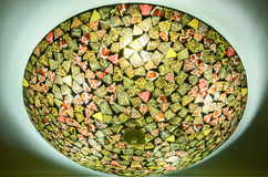 bakgrundskula som kallar sunen för lampa för dagörtlampa Arkivfoton