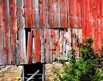 Bakgrundsladugårddörr i Wisconsin Fotografering för Bildbyråer