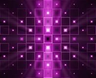 bakgrundslampa - purple royaltyfri illustrationer