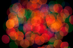 Bakgrundslampor Arkivfoton