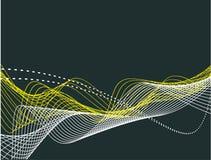 bakgrundslinje wave Arkivbild