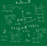 bakgrundsmatematikvektor vektor illustrationer