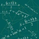 bakgrundsmath vektor illustrationer