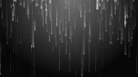 Bakgrundsmatriserna av bokstäver Matris av det engelska alfabetet royaltyfri illustrationer