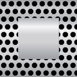 Bakgrundsmetalltextur, vektorbakgrund royaltyfri illustrationer