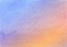Bakgrundsmodell med kulör pastell Lilor och apelsin Arkivfoto