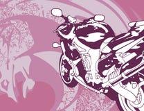 bakgrundsmotorcykel Royaltyfri Foto