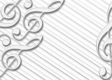 bakgrundsmusik Royaltyfria Bilder