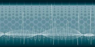 bakgrundsmusik vektor illustrationer